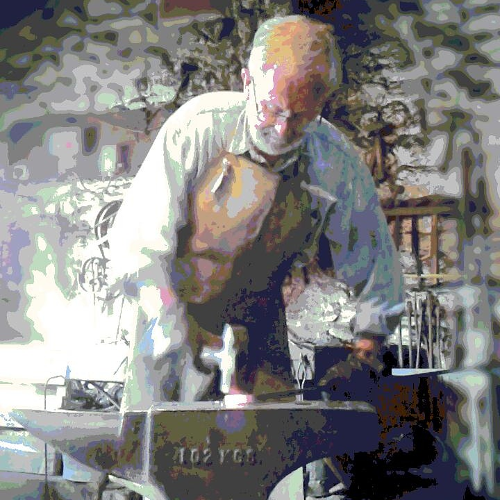 One to one blacksmithing tuition in Yorkshire at the Malham Smithy